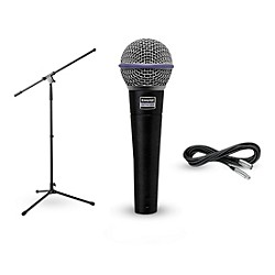 Shure Beta 58A, Stand & Cable Package (Beta 58A Package)