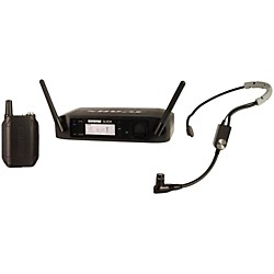 Shure GLX-D Digital Wireless Headset System with SM35 Headset microphone (GLXD14/SM35-Z2)