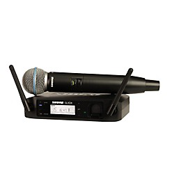 Shure GLX-D Wireless Vocal System with Beta 58 Mic (GLXD24/B58-Z2)