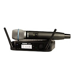 Shure GLX-D Wireless Vocal System with Beta 87A Mic (GLXD24/B87A-Z2)