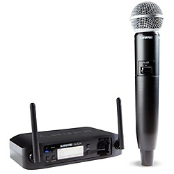 Shure GLX-D Wireless Vocal System with SM58 Mic (GLXD24/SM58-Z2)