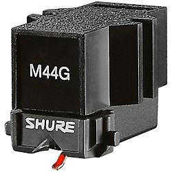 Shure M44G DJ Cartridge for Scratching and Mixing (M44G)