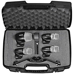 Shure PG 4-Piece Drum Microphone Package (PGDMK4-XLR)