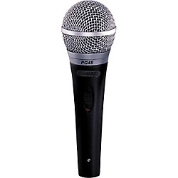 Shure PG48-XLR Microphone with Switch (PG48-XLR)