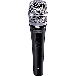 Shure PG57-LC Dynamic Microphone (PG57-LC)