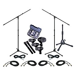 Shure PGDMK6 Drum Mic Package (PGDMK6-XLR-KIT)