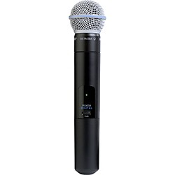 Shure PGXD2/Beta58A Handheld Transmitter with Beta 58A Mic (PGXD2/BETA58=-X8)