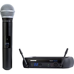 Shure PGXD24/PG58 Digital Wireless System with PG58 Mic (PGXD24/PG58-X8)