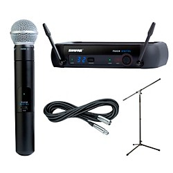 Shure PGXD24/SM58 Handheld Wireless Package (PGXD24SM58)