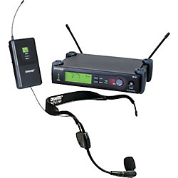 Shure SLX Wireless Headset System with WH30 Mic (SLX14/WH30-J3)