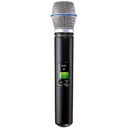 Shure SLX2/BETA87A Wireless Handheld Transmitter Microphone (SLX2/BETA87A=-L4)