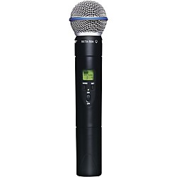 Shure SLX2/Beta58 Wireless Handheld Transmitter Microphone (SLX2/BETA58=-L4)