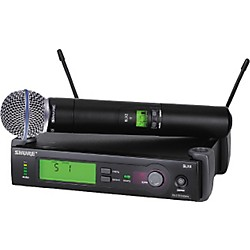 Shure SLX24/BETA58 Wireless Handheld Microphone System (SLX24/BETA58-G4)