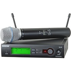 Shure SLX24/BETA87C Wireless Microphone System (SLX24/BETA87C-G4)