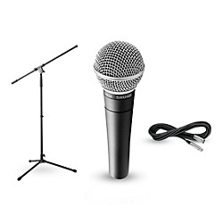 Shure SM58, Stand & Cable Package (SM58 Package)