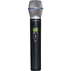 Shure ULX2/BETA87C Wireless Handheld Transmitter Microphone (ULX2/BETA87C=-J1)