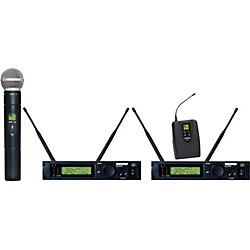 Shure ULXP124/58 Dual Channel Mixed Wireless System (ULXP124/58-M1)