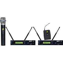 Shure ULXP124/BETA87C Dual Channel Mixed Wireless System (ULXP124/BETA87C-M1)