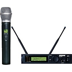 Shure ULXP24/SM86 Handheld Wireless Microphone System (ULXP24/SM86-M1)