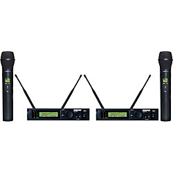 Shure ULXP24D/87 Dual Handheld Wireless Microphone System (ULXP24D/87-M1)