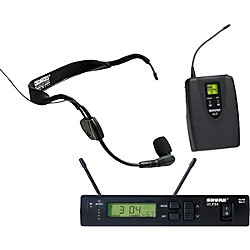 Shure ULXS Wireless Headset System with WH30 Mic (ULXS14/30-J1)
