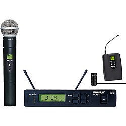 Shure ULXS124/85 Wireless Handheld/Lavalier Combo System (ULXS124/85-M1)