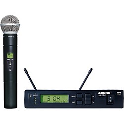 Shure ULXS24/58 Handheld Wireless Microphone System (ULXS24/58-J1)