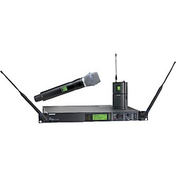 Shure UR124S/BETA87C Combo Wireless Instrument/Microphone System (UR124S/BETA87C-L3)
