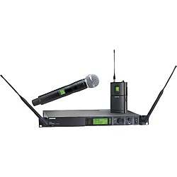 Shure UR124S/SM58 Combo Wireless Instrument/Microphone System (UR124S/SM58-L3)