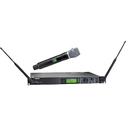 Shure UR24S/BETA87A Handheld Wireless Microphone System (UR24S/BETA87A-H4)
