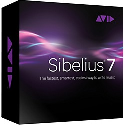 Sibelius 7 and AudioScore Bundle (9910-65072-00)