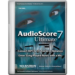 Sibelius AudioScore Ultimate 7 (9910-65076-00)