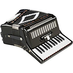 SofiaMari SM-2648, 26 Piano 48 Bass Accordion (SM-2648 BLACK)