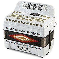 SofiaMari SMTT-3412, Two Tone Accordion (SMTT3412 sol/fa WP)