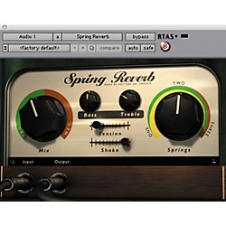 Softube Spring Reverb Plug-in - Native (SFT-SPR-1D)