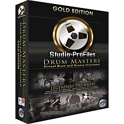 Sonic Reality Drum Masters Gold Edition Software (SR-SPDM-GLD01)