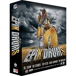 Sonic Reality EpiK DrumS - A Ken Scott Collection DVD Edition (SR-EPIK-KSDVD01)