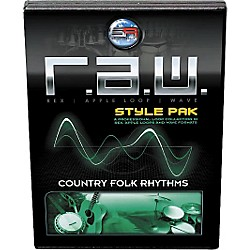 Sonic Reality R.A.W. Style Pack - Country Folk Rhythms Loops Collection Software (SR-RAW-CFR12-702696)