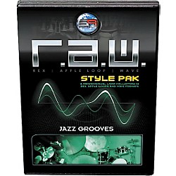 Sonic Reality R.A.W. Style Pack - Jazz Grooves Loops Collection Software (SR-RAW-JZG13-702697)