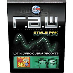 Sonic Reality R.A.W. Style Pack - Latin: Afro-Cuban Grooves Loops Collection Software (SR-RAW-LAG08-702692)