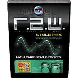 Sonic Reality R.A.W. Style Pack - Latin: Caribbean Grooves Loops Collection Software (SR-RAW-LCG10-702694)