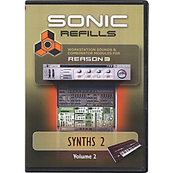 Sonic Reality Reason 3 Refills Vol. 02: Synths 2 (SR-RR02-HCD-IN)