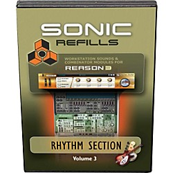 Sonic Reality Reason 3 Refills Vol. 03: Rhythm Section (SR-RR03-HCD-IN)