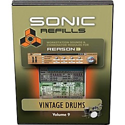 Sonic Reality Reason 3 Refills Vol. 09: Vintage Drums (SR-RR09-HCD-IN)