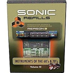 Sonic Reality Reason 3 Refills Vol. 10: Instruments of the '60s and '70s (SR-RR10-HCD-IN)