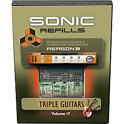 Sonic Reality Reason 3 Refills Vol. 17: Triple Guitars (SR-RR17-HCD-IN)