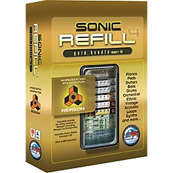 Sonic Reality Reason Sonic Refills - Gold Bundle (SR-RRGL-HCD-IN)