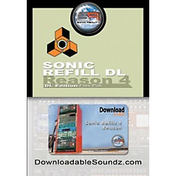 Sonic Reality Sonic ReFill DL Flex Pak with Download Card (SR-RRDL-DVD-IN)