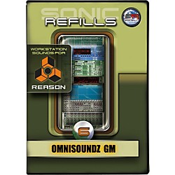 Sonic Reality Sonic Refills for Reason, Volume 6 - Omnisoundz GM (9910-40605-00)