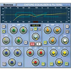 Sonnox GML Option for Oxford EQ (HD-HDX) Software Download (1029-28)